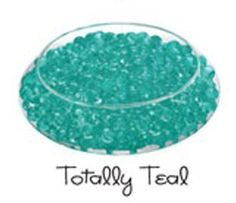 (Buy 3 Get 1 Free) Deco Beads Water Crystals - All Occasion Table Centerpiece Decorations (New Custom Colors) Totally Teal 14 Gram Pack (Makes 1.5 Quarts) by Sublime Gifts, http://www.amazon.com/dp/B008HS8ECI/ref=cm_sw_r_pi_dp_h.1Xrb0SC2P7E