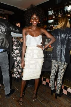 Oroma Elewa....If i could be anyone else...i would want to look like her!
