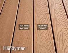 Composite Decking vs Wood A Composite Decking ReviewHistory Of