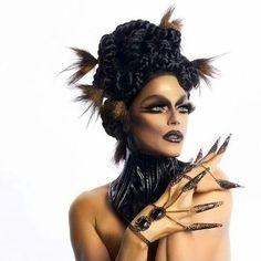 @morganmcmichaels @brettsaariphotography #dragqueen #makeup #dragrace