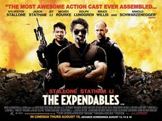 If you love your movies testosterone injected and fueled with a body count too high to count, The Expendables is right up your alley. The Expendables Not so much. The Expendables, Jason Statham Movies List, Movie List, I Movie, Movie Cars, Late Night Movies, Hd Movies Online, Watch Tv Shows, Fun Size