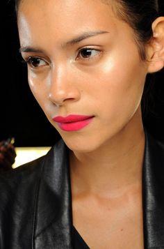 hi there pink lipstick