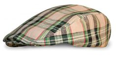 Golf Knickers: Women's Par 5 Cotton/Linen Golf Cap-Khaki Stewart.  Buy it @ ReadyGolf.com