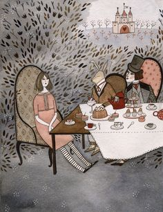 art by Yelena Bryksenkova from Fairytale Food by Lucie Cash