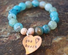 Blue Waters Of The Beach | Blue Laamb Designs $14