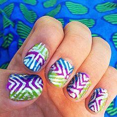 Shutter Stripes (by Trina Martirez)