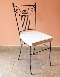 Moroccan Iron Based Garden Chair