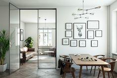 lekko.io dwuskrzydłowe drzwi ze szkła i stali