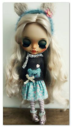 Great Blythe doll Madeleine is waiting for adoption by krokuss