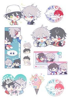 Kawaii Anime, Kawaii Chibi, Mc Lb, Dibujos Anime Chibi, Chibi Boy, Estilo Anime, Anime Stickers, Drawing Reference Poses, Manga Drawing