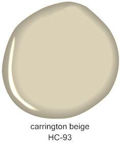 Carrington Beige foyer, hallway, and living room