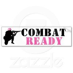 Women Soldiers Bumper Sticker