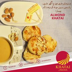 For all your occasions! #AlmondKhatai #TehzeebBakers