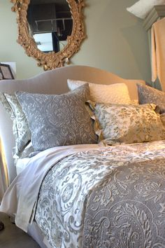 Romantic style decorative accessories and bedding