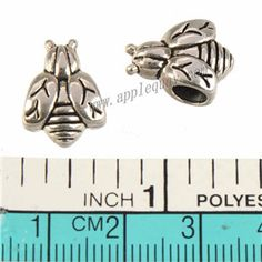 Zinc Alloy Animal Ladybird Large Hole Beads,Plated,Cadmium And Lead Free,Various Color For Choice,Approx 14.5*11*7.5mm,Hole:Approx 4.5mm,Sold By Bags,No 010109
