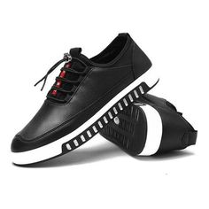 Breathbale Skateboarding Shoes Lace Up Sport Casual Trainers ($25) ❤ liked on Polyvore featuring men's fashion, men's shoes, men's sneakers, mens sport shoes, mens lace up shoes, mens shoes, mens sneakers and mens sports shoes