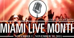 Who is in for some live entertainment in Miami? Dive into Miami's live music and entertainment scene during Miami Live Month #LiveMonth #GrandBeachMiami http://www.grandbeachhotelblog.com/grandbeachmiami/2014/11/dive-into-miamis-live-music-and-entertainment-scene-during-miami-live-month.html