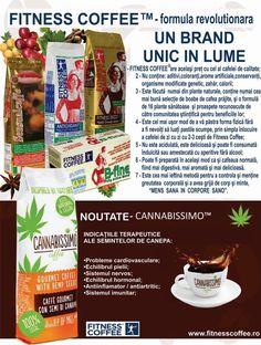 Fitness Coffee, Fitness Tea, Fitness Barley, Sensualcoffee, Cannabissimo in Romania