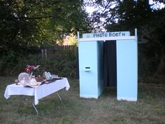 Makeshift Photo Booth | the photo booth from the wedding was awesome homemade by the groom it ...