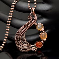 Handmade One of A Kind Wire Wrap Artisan Jewelry