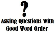 Speech and Language Kids: Asking Questions with Good Word Order-advice for talking to kids with language delays. Pinned by SOS Inc. Resources http://pinterest.com/sostherapy.