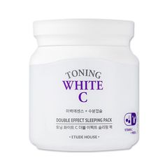 Etude House] Toning White C Double Effect Sleeping Pack 100ml, in [Health & Beauty, Skin Care, Night Treatments | eBay