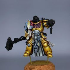 Imperial Fist, Hobbies For Men, Hobby Toys, Warhammer Models, Magic Eyes, Warhammer 40000, Space Marine, Photography Tutorials, Painting Techniques
