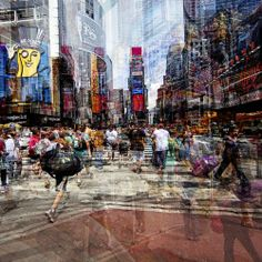 photo by Laurent Dequick Multiple Exposure Photography, Roubaix, Urban Exploration, Cubism, France, Taking Pictures, Street Photography, Times Square, Explore