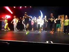 Just learning the moves...but such a FUN workout!! Bokwa @Fi Bohane 2013