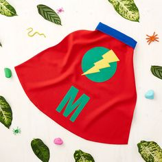 Red and Blue super hero cape. Fabulous #handmade children's dressing up #cape.