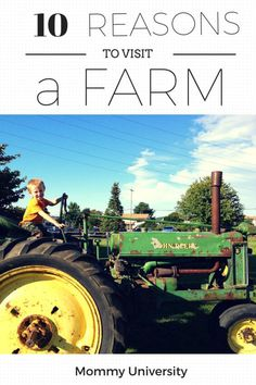 10 EDUCATIONAL BENEFITS OF VISITING A FARM (learning experiences) by Mommy University at www.mommyuniversitynj.com #njfarms