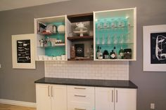 DIY Kitchen Cabinet Makeover ... Get the WOW factor.  #kitchens #kitchencabinets #kitchenideas