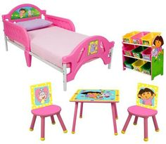 Dora bedroom decorations dora bedding set dora for Dora themed bedroom designs