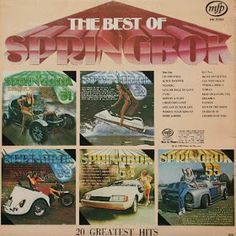 Springbok: Springbok Hit Parade Best Of / Top Hits Greatest Hits, Album Covers, Vinyl Records, Growing Up, South Africa, Hot, Grow Taller, Torrid