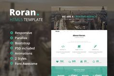 Check out Roran - One Page Parallax Template by VHDesign on Creative Market