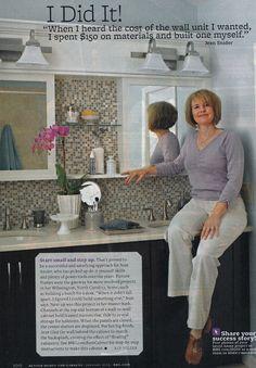 Bath storage - DIY - http://www.bhg.com/bathroom/remodeling/projects/diy-bathroom-cabinet?ordersrc=rdbhg1105540