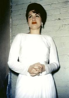 Patsy Cline- March 3, 1963...this has to be one of the last pictures of this gorgeous lady....