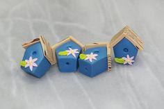 Birdhouse beads :)