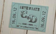 Carnival Fun Save The-Date