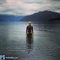 Credit to @wanaka_xc : An early morning swim in the tranquil lake today overcast but the #NewWaveSwimBouy and matching flouro swim cap are great beacons! First swim with the bouy and it's great - totally unnoticed by the swimmer but really visible by other water users. Makes sense!  #openwaterswim #openwaterswimming #wanaka #newwaveswimbouy  #masterswimming #masterswim #swimmer #swimmerlife #freestyle #openwaterswimming #trilife #swimfit #openwater #swimlike #forswimmer #keepswimming…