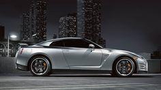 Nissan GT-R® Black Edition shown in Super Silver.