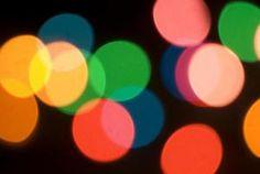 'Fairy light bokeh' por Christmas Stock Images.
