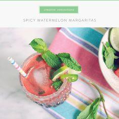 Summerfield Delight | Spicy Watermelon Margaritas
