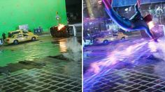 Special Effects Making of The Amazing Spider-Man 2 VFX supervisor Jerome Chen reveals how the Times Square Battle sequence, among the film's most complicated, was shot. http://www.hollywoodreporter.com/behind-screen/amazing-spider-man-2-an-700743