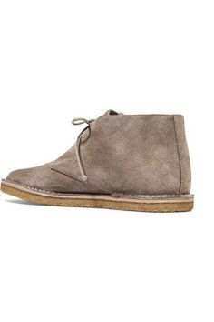 Vince - Parsons Suede Desert Boots - Taupe - US5.5