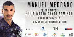 Manuel Medrano, lanzamiento de su primer álbum. Uno de los cantautores más importantes de la escena colombiana actual. Sus sencillos promocionales Afuera...