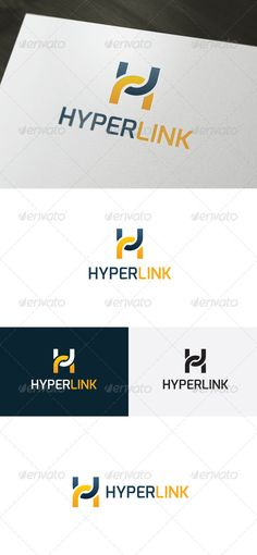 Hyper Link � Letter H - Logo Design Template Vector #logotype Download it here: http://graphicriver.net/item/hyper-link-logo-letter-h/6611861?s_rank=739?ref=nexion