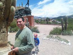 Humahuaca, el monumento a los heroes de la independencia