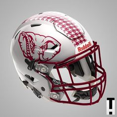 Football Helmet Design, College Football Helmets, Football Uniforms, Football Memes, Football Jerseys, Football Stuff, Crimson Tide Football, Notre Dame Football, Alabama Football