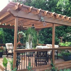 A new pergola overlooking extensive gardens and a DIY Koi pond is how these Georgia homeowners now enjoy relaxing after a hectic day. See the before and afters here. | thisoldhouse.com/yourTOH